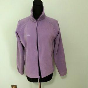 Columbia Lavender fleece